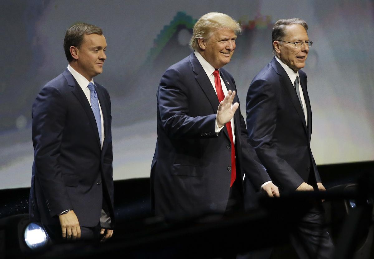 Foto Donald Trump NRA 10 Octubre 2019
