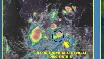 Foto: Este jueves, se registraron lluvias de moderadas a fuertes en las regiones de Acapulco, Costa Chica y Tierra Caliente, 11 de octubre de 2019, (Conagua)