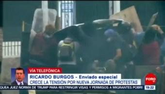 FOTO: El 12 de octubre de 2019, uno de los días más violentos para Ecuador, 12 octubre 2019