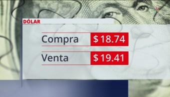 El dólar se vende en $19.41