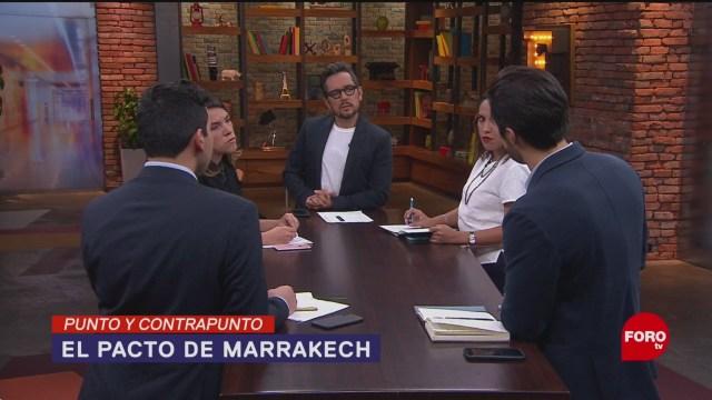 Foto: Pacto Marrakech Éxito Fracaso Migrantes Marruecos 4 Octubre 2019