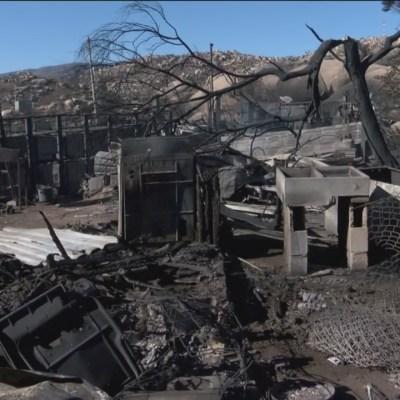 Emiten declaratoria de emergencia para Ensenada y Tecate por incendios