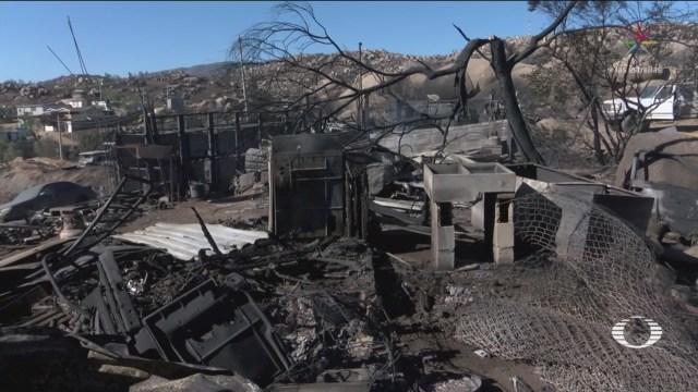 Foto: Declaratoria Emergencia Ensenada Tecate Incendios Forestales 28 Octubre 2019