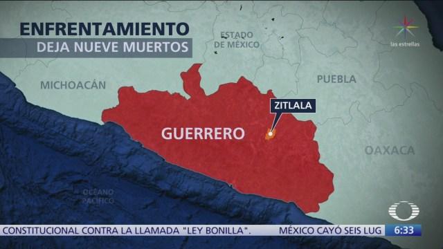 Encuentran 9 cadáveres en Zitlala, Guerrero