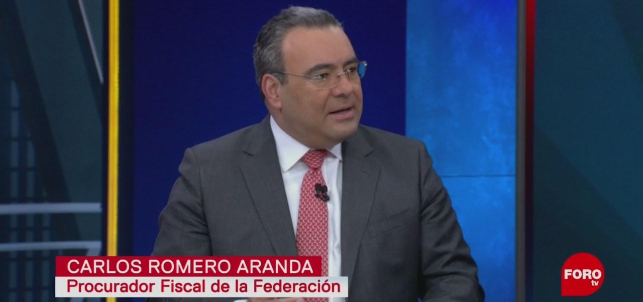 FOTO: Entrevista a Carlos Romero Aranda, 13 octubre 2019
