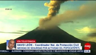 Entrevista completa David León sobre Popocatépetl en Paralelo 23