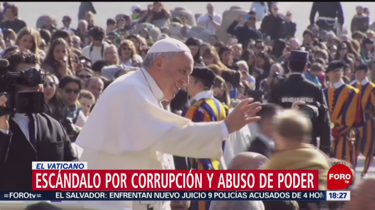 FOTO: Escándalo por corrupción abuso poder Vaticano,