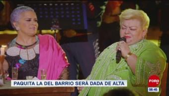 #EspectáculosenExpreso: Paquita la del Barrio será dada de alta