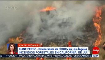 FOTO: Estado de emergencia en California por incendios forestales, 28 octubre 2019