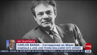 FOTO: Este Viernes Podría Realizarse Primer Homenaje José José