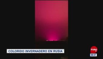 Extra, Extra: Se topa con un resplandor rosa