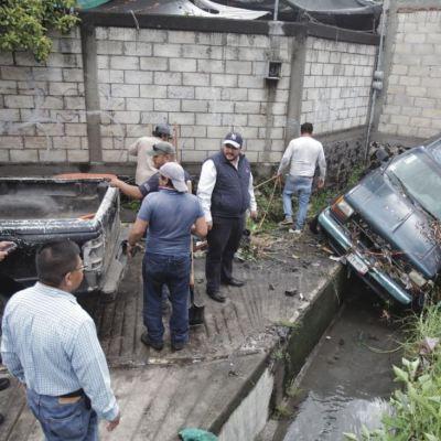 Lluvias por frente frío 7 dejan afectaciones en Cuernavaca, Morelos
