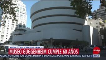 Foto: Museo Guggenheim Festejos 60 Aniversario 22 Octubre 2019