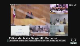 FOTO: Video audiencia Rosario Robles