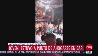 FOTO: Fiscalía del Estado de México desmiente muerte de hombre en bar, 13 octubre 2019