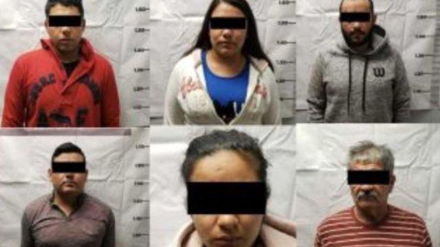 Foto: Presuntos integrantes de 'La Línea' en Chihuahua.