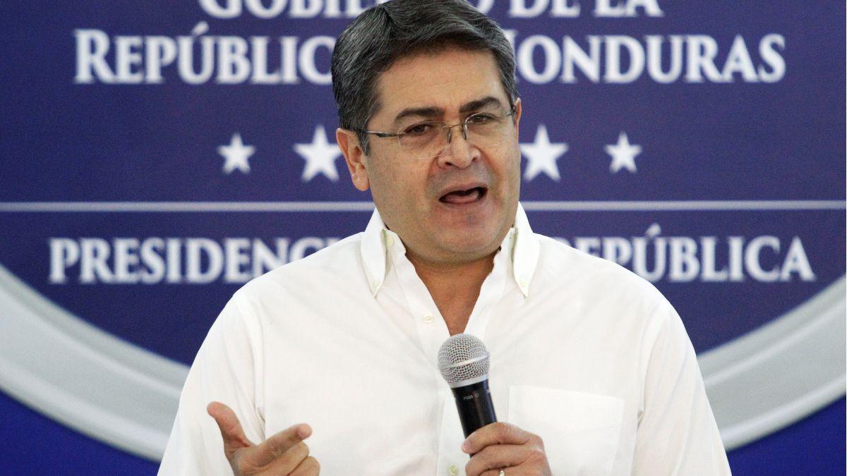 Foto: Juan Orlando Hernández, presidente de Honduras. Reuters
