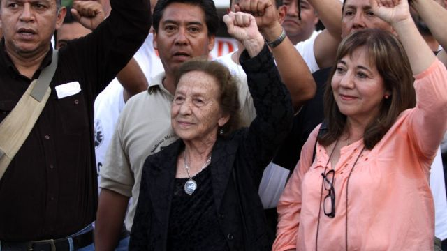 Foto: Rosario Ibarra de Piedra, activista y excandidata presidencial. Cuartoscuro/Archivo