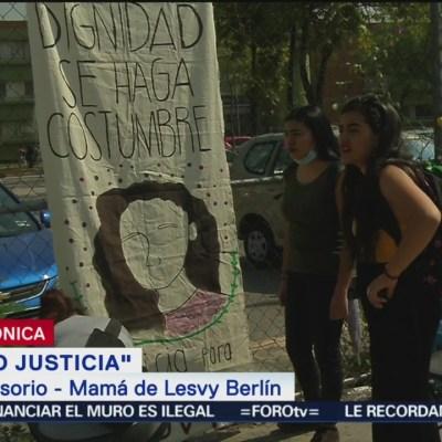 Fue necesario salir a las calles para lograr justicia en feminicidio de mi hija: Madre de Lesvy