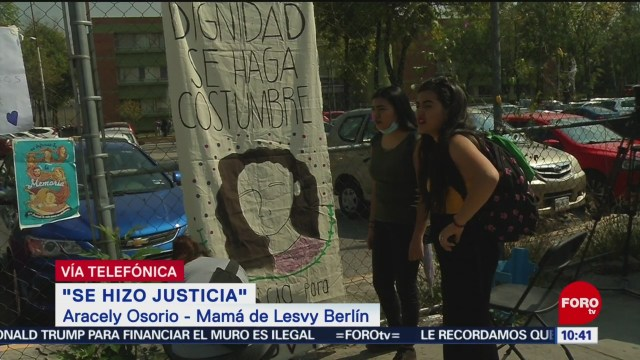 FOTO: Fue necesario salir a las calles para lograr justicia en feminicidio de mi hija: Madre de Lesvy, 12 octubre 2019