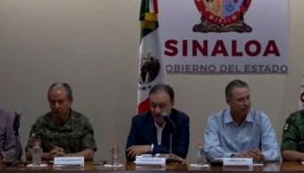 FOTO Integrantes del Gabinete de Seguridad informan sobre la captura de Ovidio Guzmán, hijo de 'El Chapo' (FOROtv)