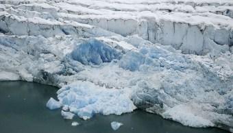 Foto: Derretimiento glaciares revela cinco nuevas islas. 24 Octubre 2019