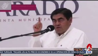 Foto: Gobernador Puebla Asegura Dios Castigó Erika Alonso 9 Octubre 2019
