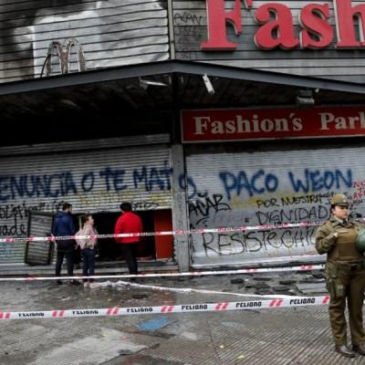 Gobierno confirma 997 imputados durante las protestas en Chile
