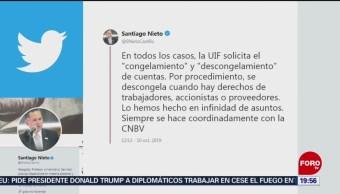 Foto: Gobierno No Presionó Medina Mora Santiago Nieto 10 Octubre 2019