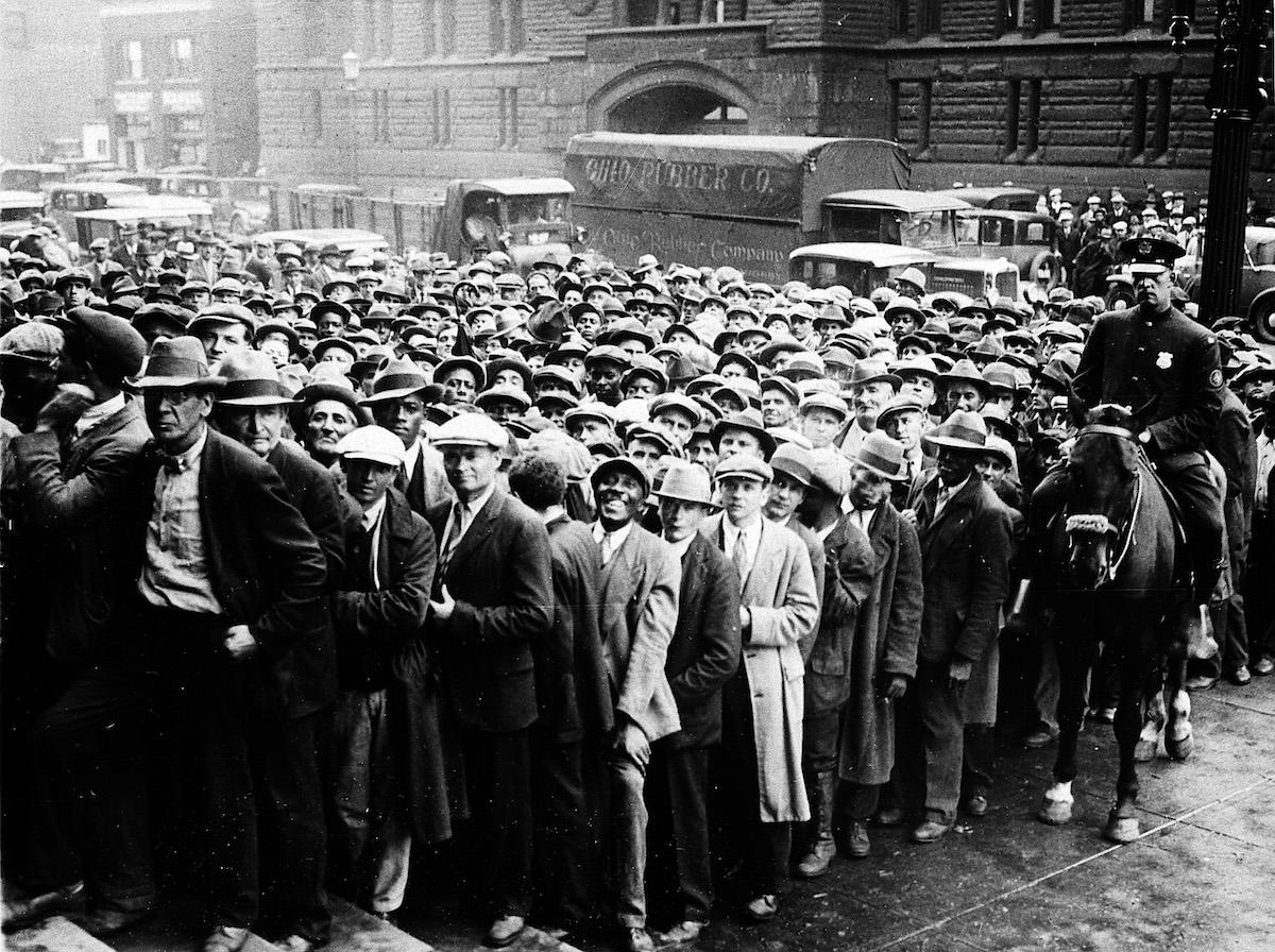 Viernes Negro Crack 1929 Foto