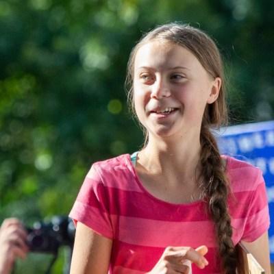 Greta Thunberg se burla de las declaraciones de Putin