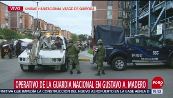 FOTO: Guardia Nacional Realiza Operativo Gustavo A. Madero
