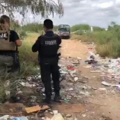 Hallan dos fosas con restos humanos en Tamaulipas