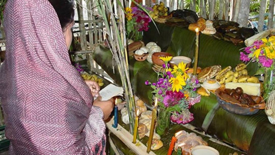 Foto: Los dulces que se colocan en los altares del Hanaal Pixán son una tradición del pueblo maya, 25 octubre 2019