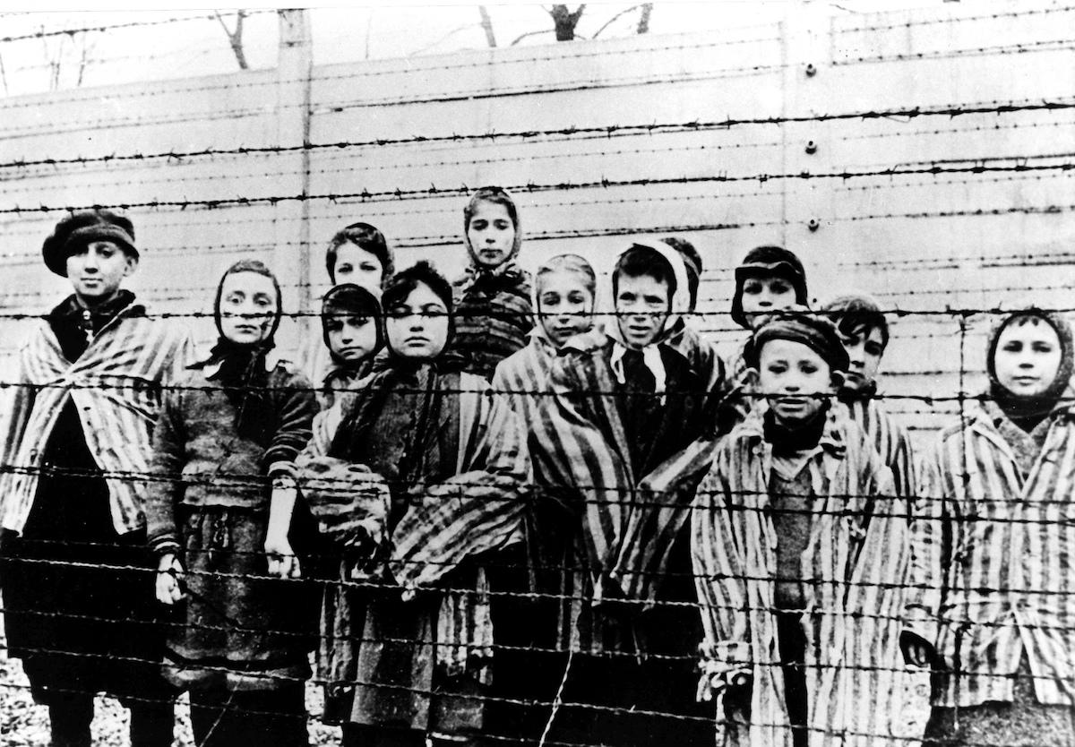 Holocausto Nazismo Campos Concentración 1929 Foto