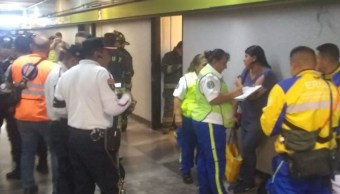 Hombre muere en Metro Copilco.