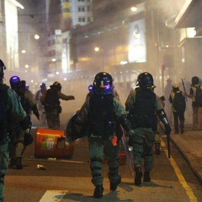 Hong Kong cae en recesión por primera vez en 10 años