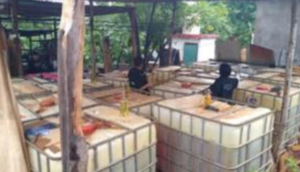 Decomisan cerca de 70 mil litros de combustible en Veracruz y Tabasco