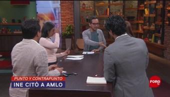 Foto: INE y AMLO 1 Octubre 2019
