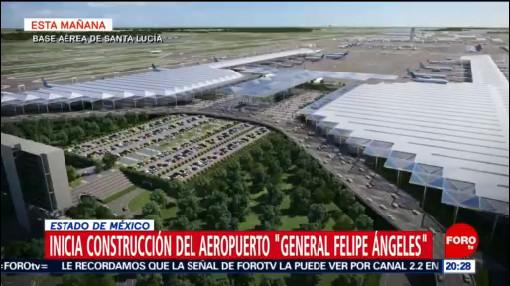 Foto: Inicia Construcción Aeropuerto Santa Lucía 17 Octubre 2019