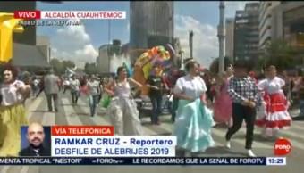 FOTO: Inicia Desfile de Alebrijes 2019 sobre Paseo de la Reforma, 19 octubre 2019