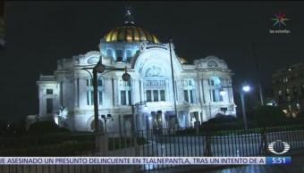 Instalan vallas en Bellas Artes para homenaje a José José