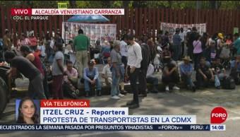 FOTO: Integrantes SME manifiestan Cámara Diputados