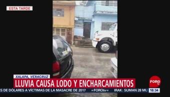 FOTO: Inundación Invade Palacio Gobierno Xalapa Veracruz