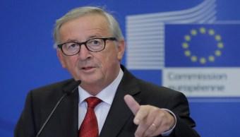 FOTO: El presidente de la Comisión Europea, Jean-Claude Juncker