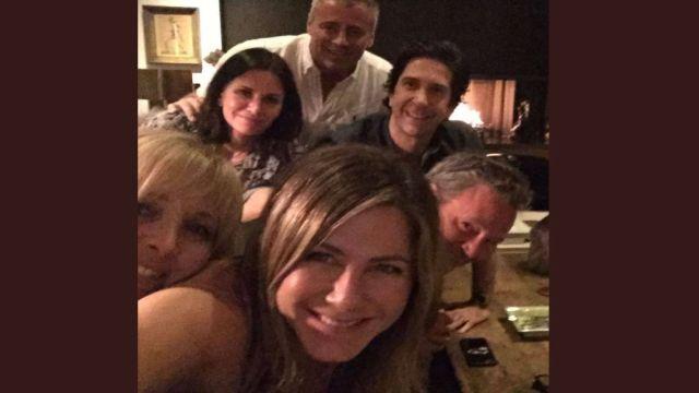 Jennifer Aniston estrena cuenta en Instagram con Friends