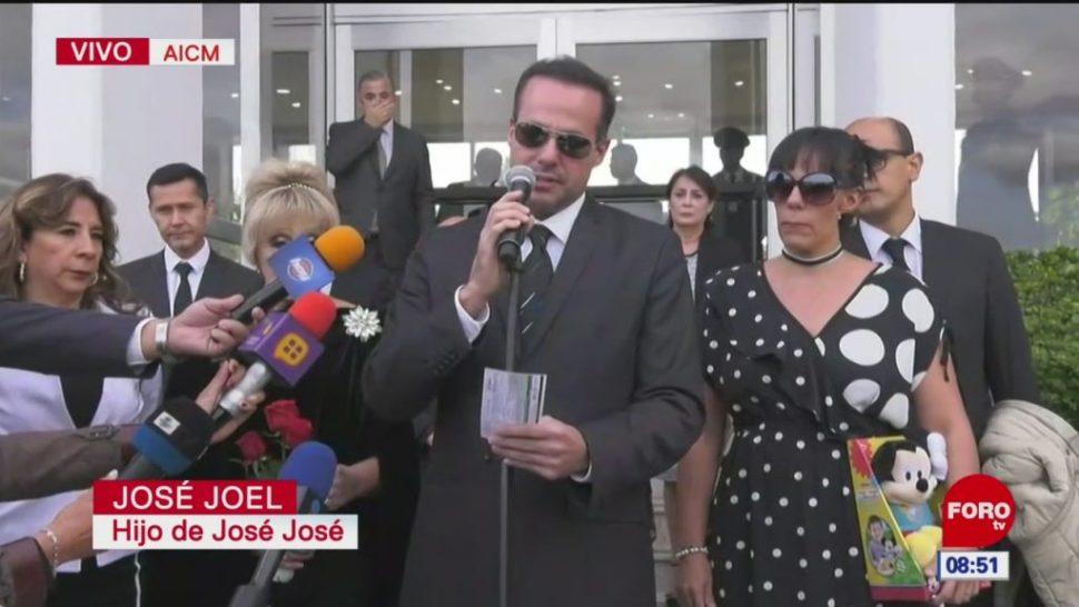 José Joel: Logramos traer las cenizas de mi papá a México