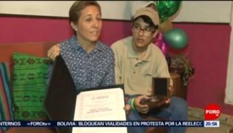Foto: Premio Nacional Juventud 2019 Gana Joven Yucateco 25 Octubre 2019