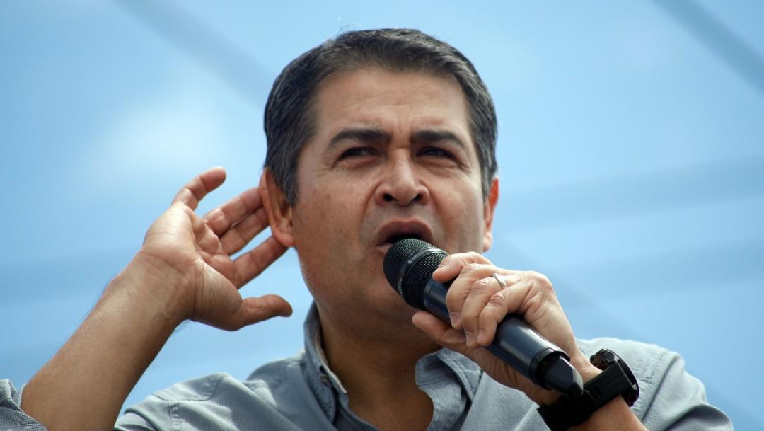 FOTO: Juan Orlando Hernández, 22 de junio de 2019, Honduras