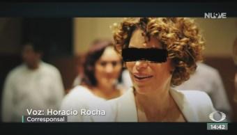 FOTO: Karime Macías Se Presentó Voluntariamente Audiencia